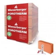 Wienerberger Porotherm 11.5 Dryfix klasa 10 (pełna paleta)